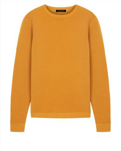 Wool Horizontal Ribbed Sweater