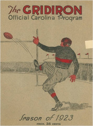 Throwback Thursday: The official souvenir program of the 1923 @Megan Daley Athletics  football season.: Football Season