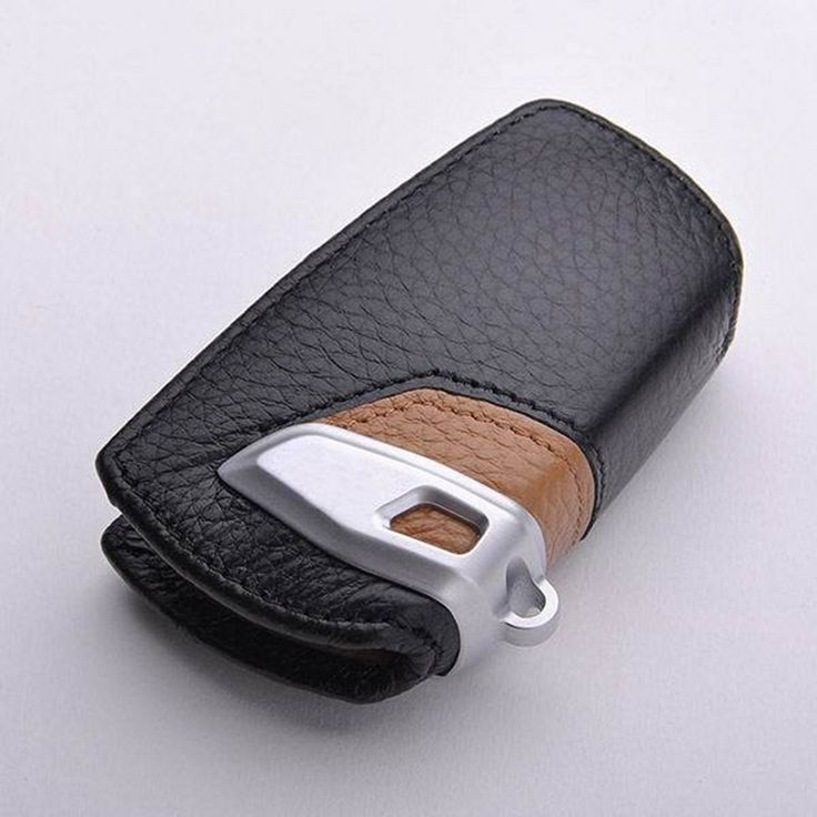 Leather Wallet Key Case For Bmw F30 1 2 3 4 5 6 7 Series X3 X4 320I 116I 118I 328I 530 Car Key Cover For Bmw Leather Key Holder