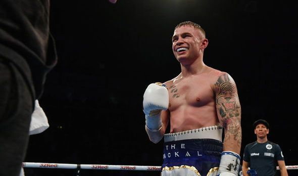 Carl Frampton willing to wait for shot at Leo Santa Cruz or Lee Selby after Garcia win