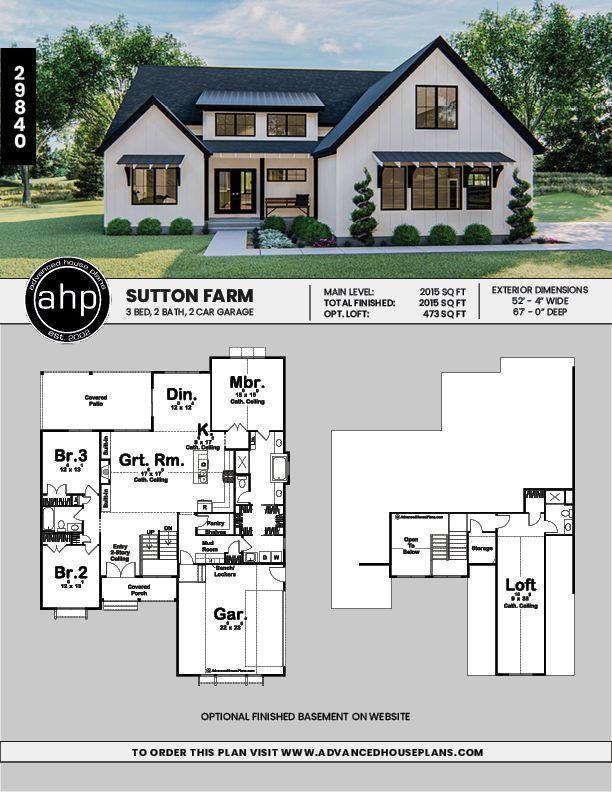 Modern House Plans 2020 House Plans Modern House Plans One Story Modern In 2020 Affordable House Plans Farmhouse Style House Farmhouse Style House Plans