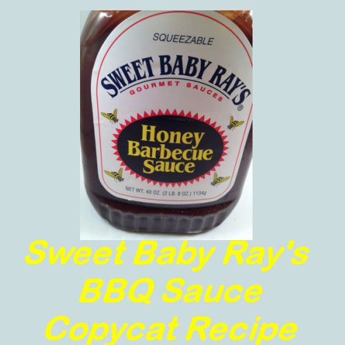 Sweet Baby Ray's BBQ Sauce Copycat Recipe - My Honeys Place