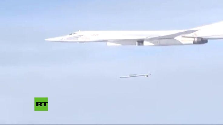 El 'Cisne Blanco' Tu-160 realiza ataques de alta precisión contra el Est...