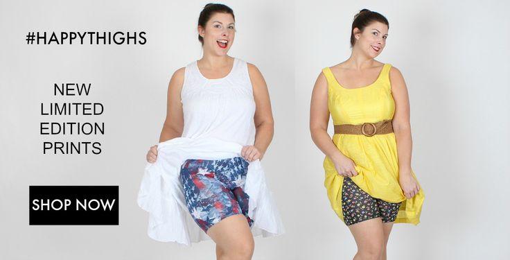 Undersummers Shortlette Slip Shorts. Always Fun. Super Comfy. Never Shapewear.