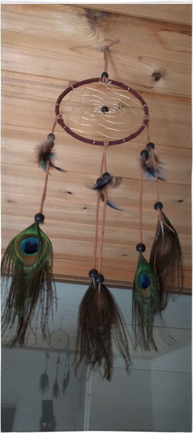 Now available on our store: Peacock  Feather ...     Check it out here! http://damonsonlinestore.us/products/peacock-feather-dreamcatcher-3?utm_campaign=social_autopilot&utm_source=pin&utm_medium=pin