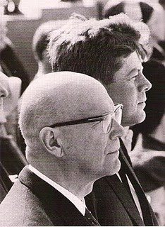 Kekkonen and Kennedy, 1961
