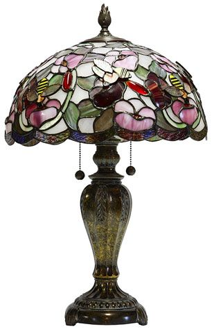 Tiffany lamp - pretty vintage style lighting, It is available for various uses including desk lamp, standing lamp, wall and ceiling lights.