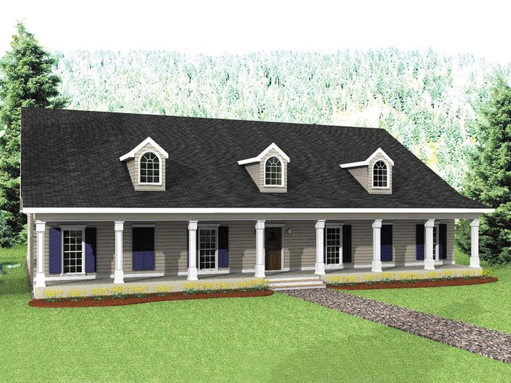 1000 ideas about farmhouse house plans on pinterest for House plans and more com home plans