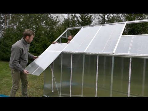 palram polycarbonate greenhouse assembly instructions