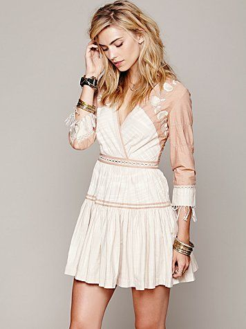 Free People FP New Romantics Lovers Lane Ikat Dress $228 - this is ridiculously cute...