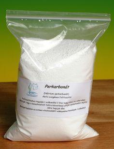 Perkarbonát (folteltávolító só) használata - A tökéletes fehérítő és foltoldó – jobb, mint gyári társai | Ökoanyu