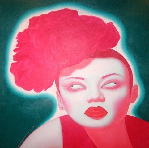artnet Galleries: China portrait by Feng Zhengjie from David Benrimon Fine Art, LLC