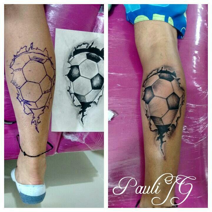 Tattoo soccer ball