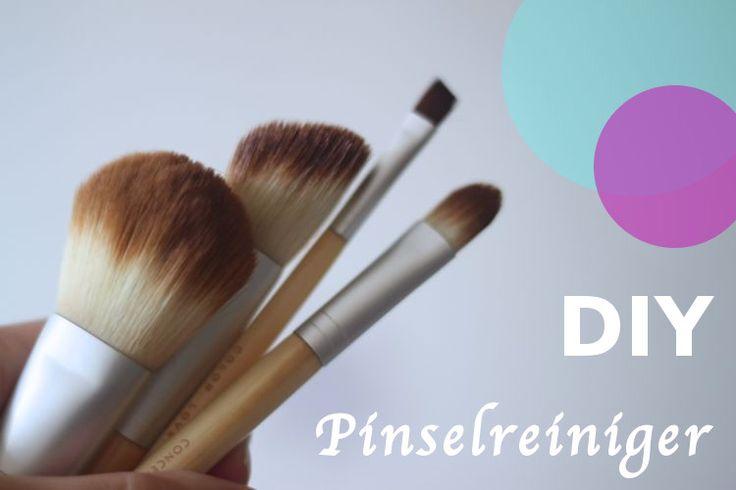 Wer schön sein will....muss seine Schminkpinsel reinigen!  Hier findet ihr einen Pinselreiniger zum selber machen #DIY #Beautypinsel