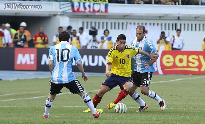 ¡Buenos Aires para la selección Colombia! - diario El Pais