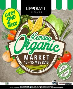 Kemang Organic Market di Lippo Mall Kemang http://www.perutgendut.com/read/kemang-organic-market-di-lippo-mall-kemang/1538 #Event #Food #Kuliner #Indonesia #Jakarta