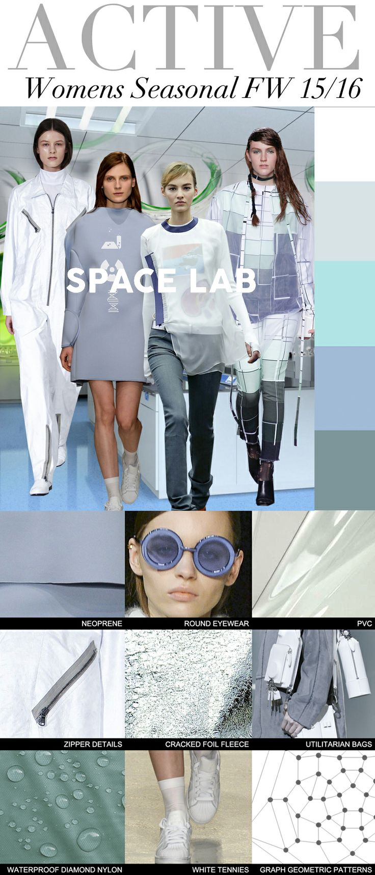 Trend Council: Active Womens Seasonal FW 15/16 - Space Lab
