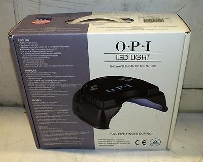 OPI LED Light, Full Five-Finger Curing