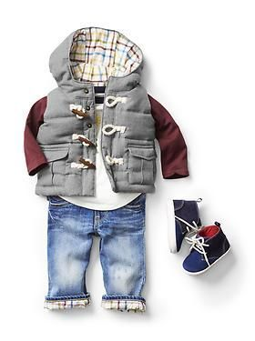 Adorable something you might consider dressing your little man in❤️