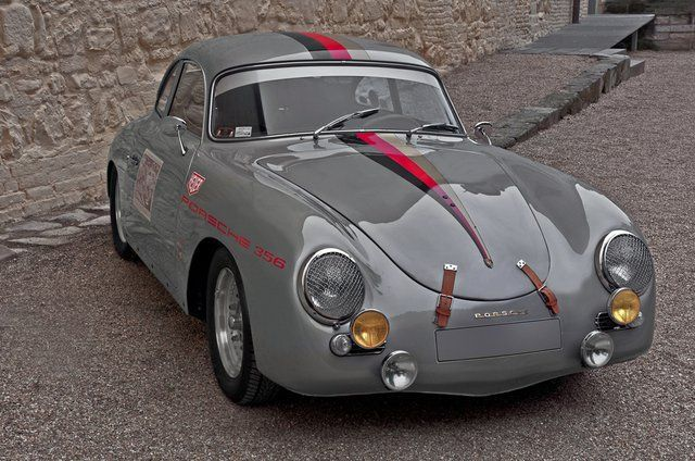 Grey Porsche 356!  Whether you're interested in restoring an old classic car or you just need to get your family's reliable transportation looking good after an accident, B & B Collision Corp in Royal Oak, MI is the company for you!  Call (248) 543-2929 or visit our website www.bandbcollisioncorp.net for more information!