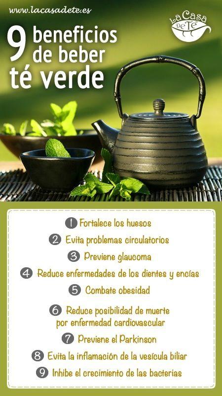 El té verde ayuda a fortalecer los huesos y a evitar problemas circulatorios ¡Sácale jugo a sus beneficios!
