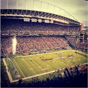 CenturyLink Field - Home of the Seattle SEAHAWKS - A geek explains the record breaking, sound levels.