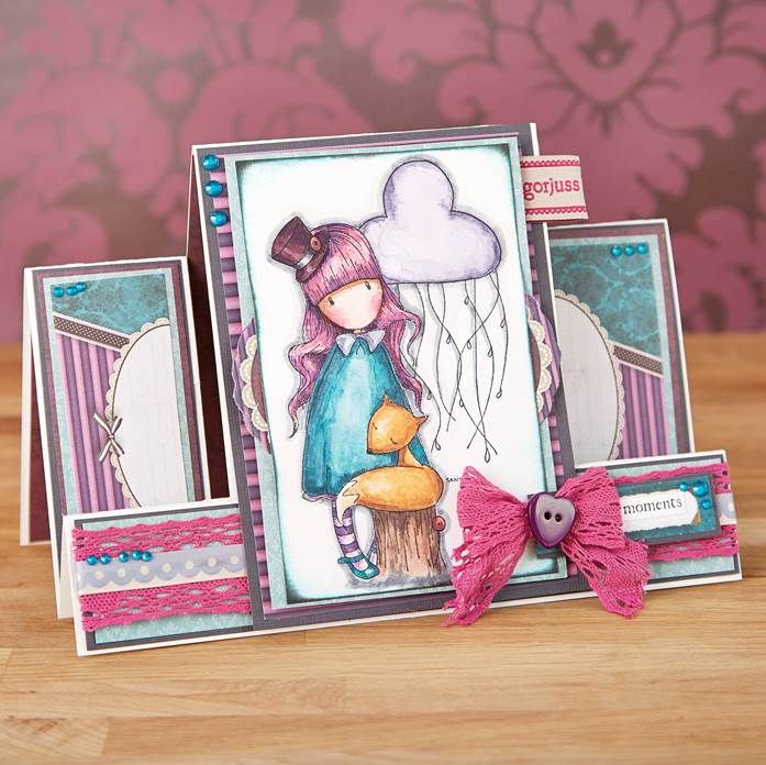 Stunning patterns and illustrations from the Santoro Gorjuss range! Shop now at Create & #Craft: http://www.createandcraft.tv/SearchGridView.aspx?fh_location=//CreateAndCraft/en_GB/$s=santoro%20gorjuss&gs=santoro%20gorjuss #papercraft #cardmaking