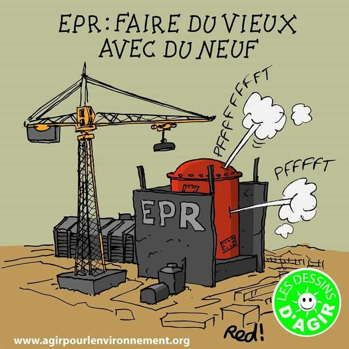 Nucléaire : #EPR #Flamanville / #Fessenheim
