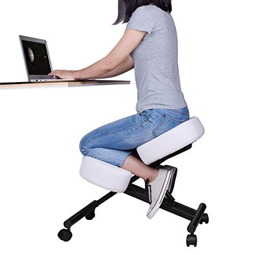 Special Offers Ergonomic Kneeling Chair Adjustable Stool For Home And Office Improve Your Posture W In 2020 Ergonomic Kneeling Chair Kneeling Chair Adjustable Stool