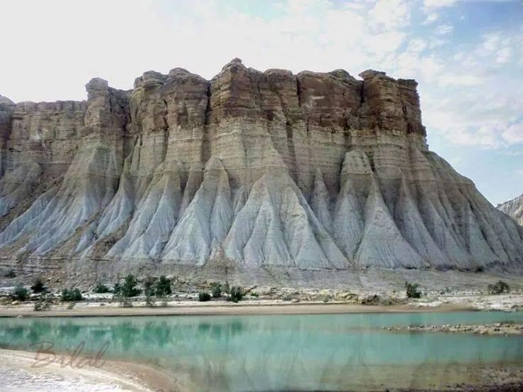The muscled formation of Hingol National Park in Hingol, Balochistan. Home to exotic wildlife, the Hingol National Park can serve as a stupendous tourist spot.