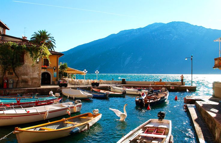 Lake Garda is a naturally beautiful part of the world, perfect for exploring by foot, and sits on the border between Trentino, Veneto and Lombardy. Description from secretescapes.com. I searched for this on bing.com/images
