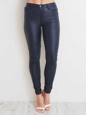 REFUGE NAVY OIL RIGGER  A$70.00  wink collection - Pants and Jeans at winkcollection.com.au