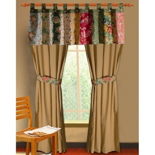 Patchwork Curtain!