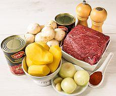 Просто, из доступных ингредиентов! Готовим суп-гуляш — Вкусные рецепты