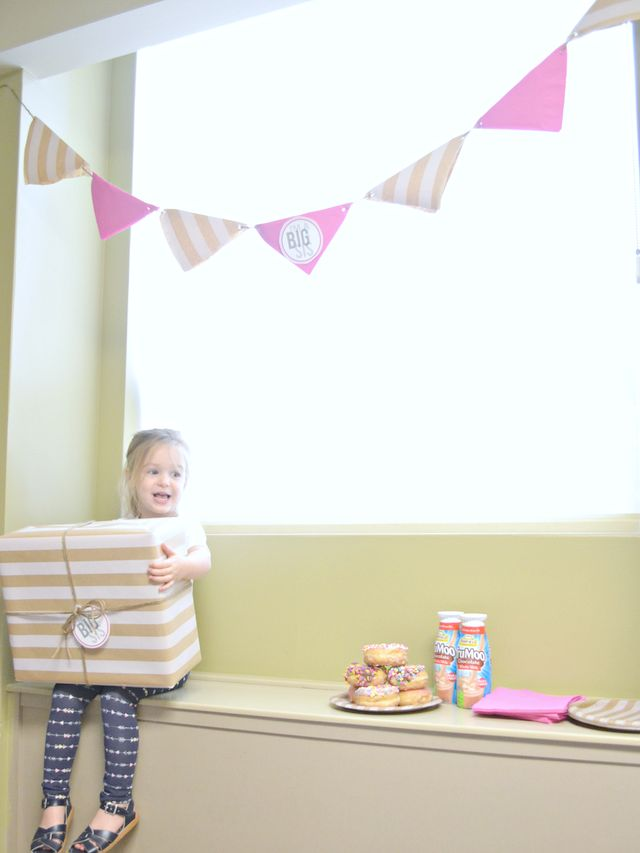 A Big-Sister Hospital Party - Celebrating Big Sister Status/Fawn Over Baby