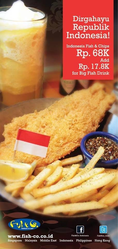 Fish & Co Promo Kemerdekaan.  For Details: http://www.giladiskon.com