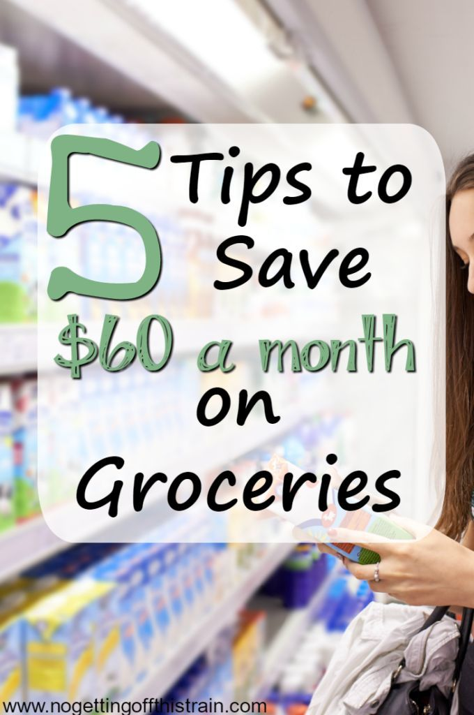 Looking to cut your grocery budget, save money, and eat for less? Here are 5 tips to save $60 a month on groceries!