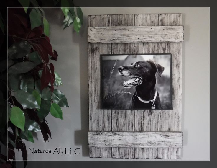 Rustic Picture Frame-8x10/ Home Decor Ideas/Country Picture Frame/Country Home Decor/Weathered Ivory/Shipping Included!