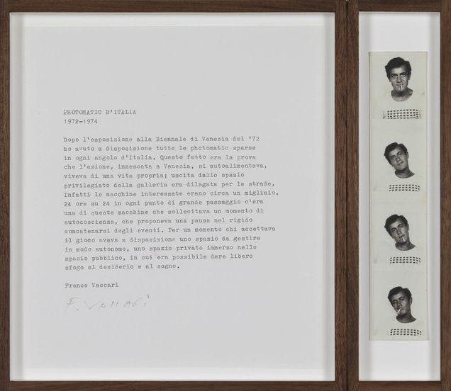 Franco Vaccari / Exposition en temps réel n°4