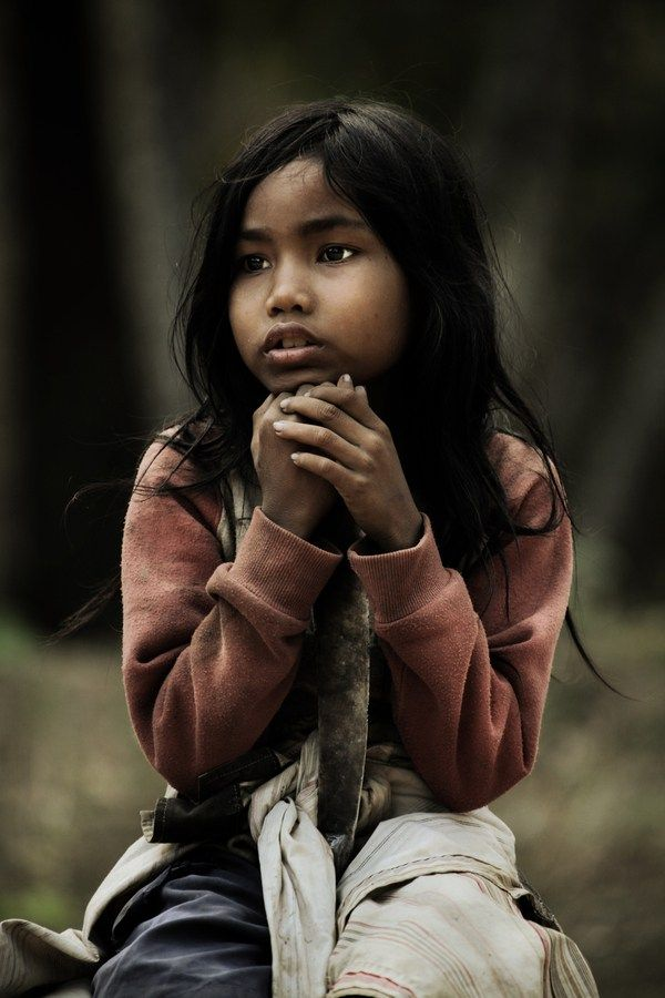 Photo d'un enfant au Cambodge