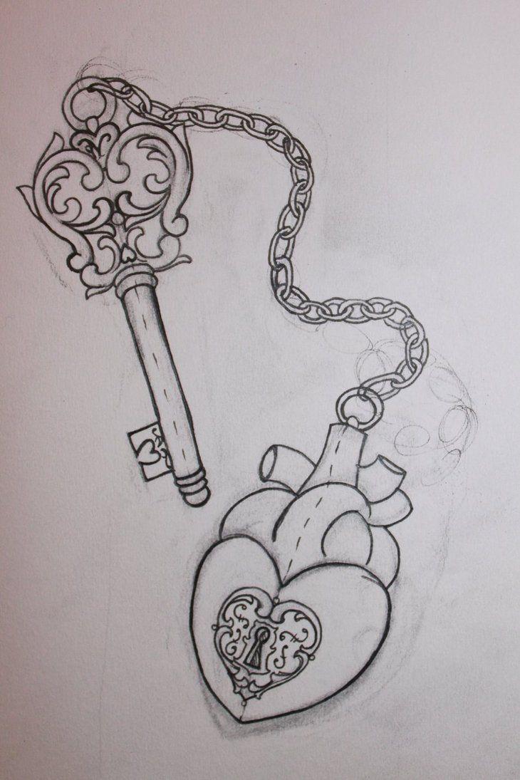 32 best hearts images on pinterest heart locket tattoos tattoo ideas and key tattoos. Black Bedroom Furniture Sets. Home Design Ideas