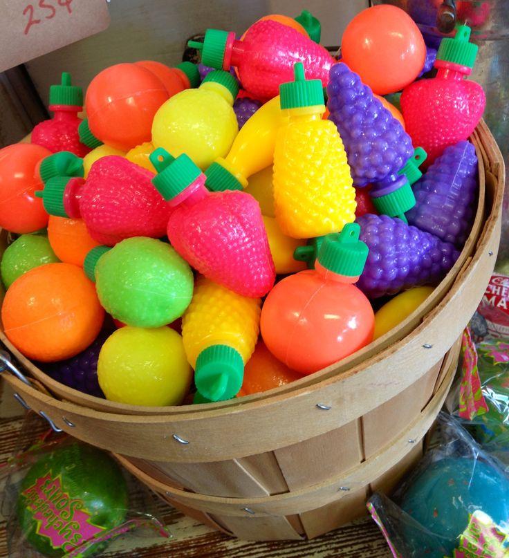 Fun Retro Candy at Nest Vintage. Johnson City, Texas. On the way to Fredericksburg, Texas.
