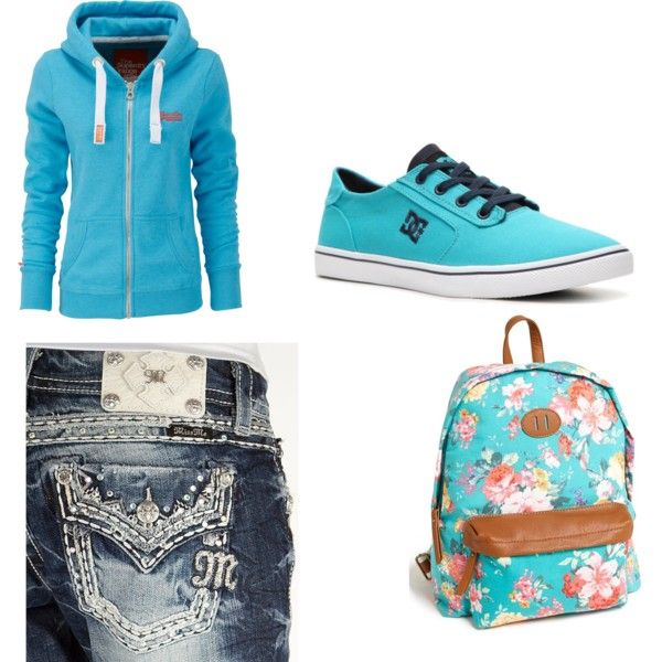 """Feeling blue?"" by haileyrobins on Polyvore"