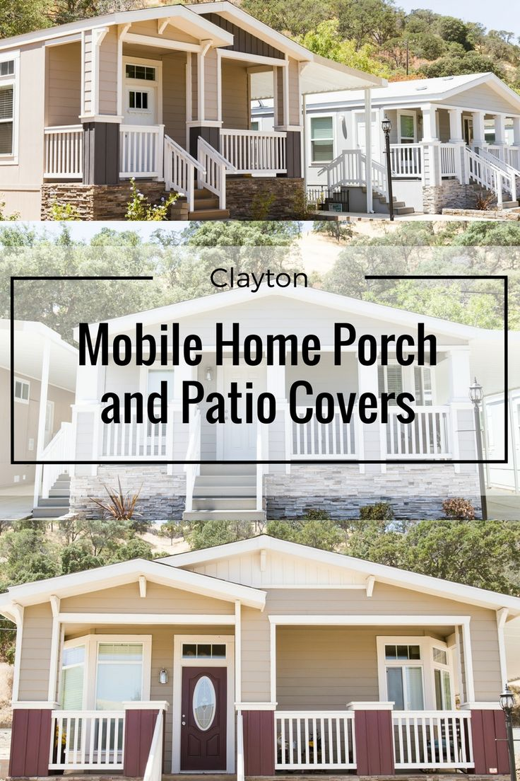 42 best Manufactured Home Porches images on Pinterest | Front ...