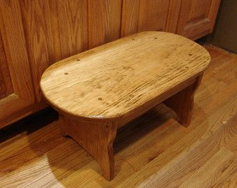 10  tall Handcrafted Heavy Duty Step Stool Wood Bedside Step Wood Bed & 11 best stool plans images on Pinterest | Foot stools Step stools ... islam-shia.org