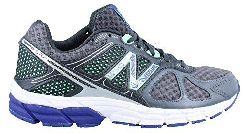 Women's New Balance 670v1 Running Shoe Break a sweat in comfort with these shoes! Manmade and fabric mesh upper with logo accent Lace up closure for a secure fit with a padded collar and tongue for a...