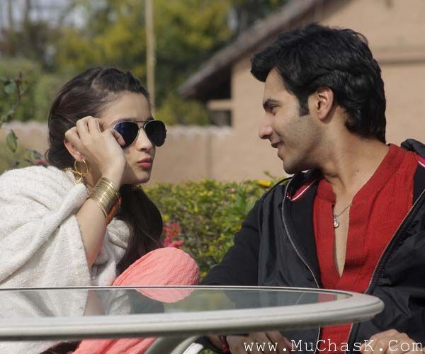Alia Bhatt and Varun Dhawan on HSKD