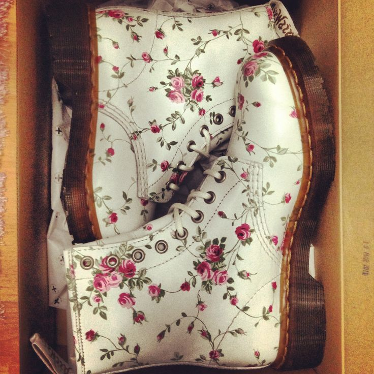 I just really love Doc Martens... esp. floral ones