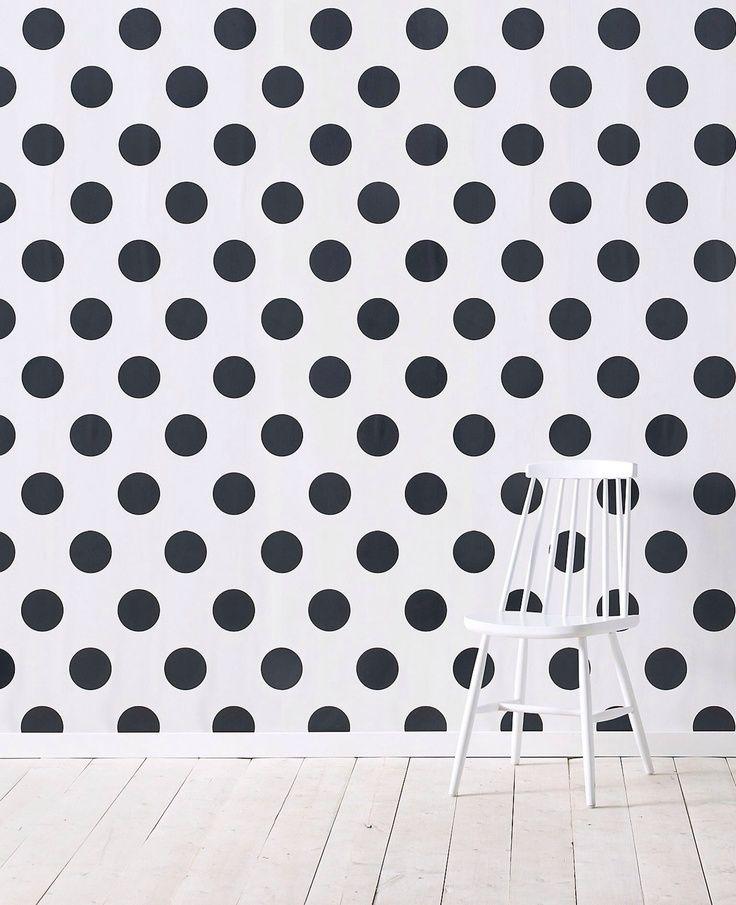 17 migliori immagini su polka dots su pinterest tessuto for How to make polka dots on wall