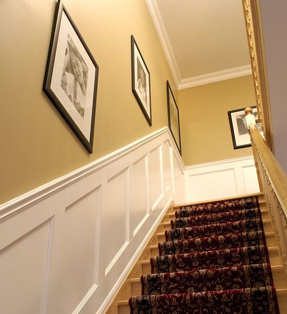 4 Diy Decorating Ideas For A Staircase: 12 Best Faux Wainscoting